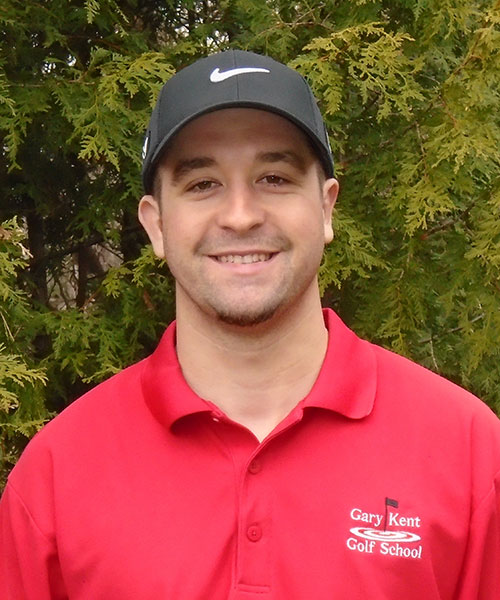 meet Kyle golf instructor at gary kent golf school