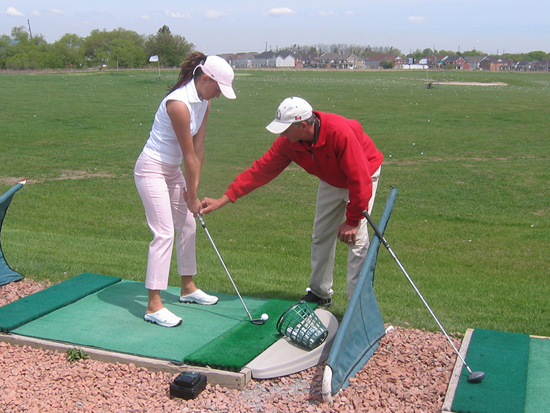 Beginner Golf Lesson Gary Kent