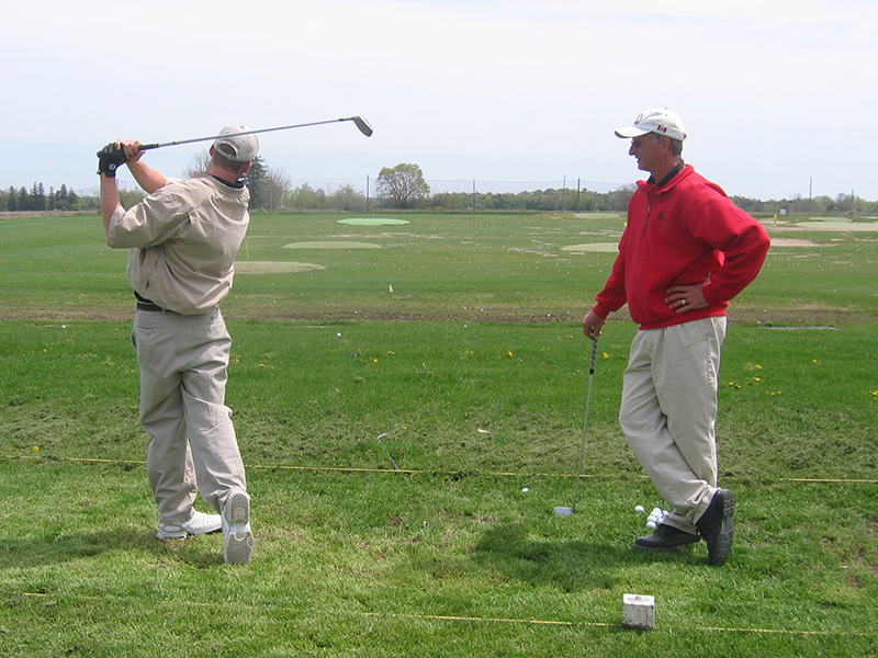Private Golf Lesson Gary Kent