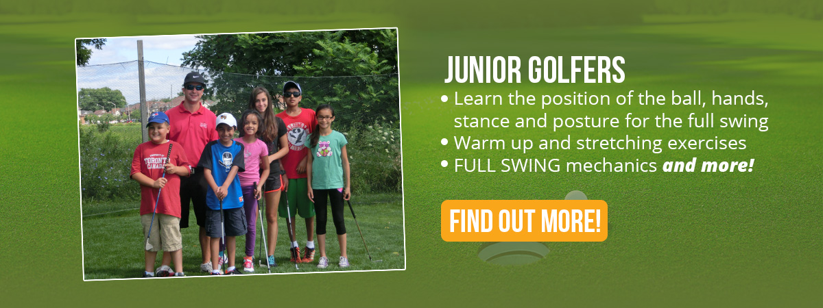 Gary Kent golf schools of ontario junior golfers
